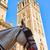 seville cathedral giralda tower with horse stock photo © lunamarina