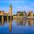 Big Ben Clock Tower and thames river London stock photo © lunamarina