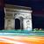 Arco · do · Triunfo · Paris · arco · triunfo · pôr · do · sol · França - foto stock © lunamarina