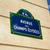 jelzőtábla · Párizs · Franciaország · város · kék · városi - stock fotó © lunamarina