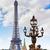 Eiffel-torony · Párizs · Franciaország · égbolt · épület · város - stock fotó © lunamarina