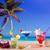strand · tropische · cocktails · wit · zand · mojito · Blauw - stockfoto © lunamarina