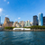 manhattan skyline new york from east river us stock photo © lunamarina