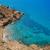 plaj · akdeniz · İspanya · gökyüzü · yaz · okyanus - stok fotoğraf © lunamarina