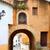 rivier · deur · Spanje · gebouw · stad · bouw - stockfoto © lunamarina