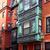 boston beacon hill brick wall facades massachusetts stock photo © lunamarina