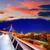 Бостон · моста · закат · Массачусетс · холме · США - Сток-фото © lunamarina