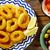 tapas · inktvis · ringen · zeevruchten · Spanje · brood - stockfoto © lunamarina