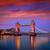 Londres · Tower · Bridge · coucher · du · soleil · thames · rivière · Angleterre - photo stock © lunamarina