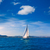 javea sailboat sailing in mediterranean alicante spain stock photo © lunamarina