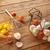 metaal · mand · tabel · Rood · vruchten · witte - stockfoto © lunamarina
