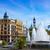 valencia city ayuntamiento square plaza fountain stock photo © lunamarina