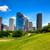 ヒューストン · テキサス州 · スカイライン · 現代 · 青空 · 表示 - ストックフォト © lunamarina