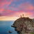 deniz · feneri · gün · batımı · İspanya · akdeniz · deniz · gökyüzü - stok fotoğraf © lunamarina