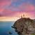 almeria cabo de gata lighthouse sunset in spain stock photo © lunamarina