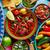 meksika · yemekleri · Meksika · gıda · kişniş · mavi - stok fotoğraf © lunamarina