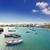 arrecife in lanzarote charco de san gines boats stock photo © lunamarina