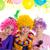 çocuklar · mutlu · yıllar · parti · palyaço · renkli · tatil - stok fotoğraf © lunamarina