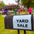 yard sale in an american weekend on the lawn stock photo © lunamarina