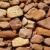 dourado · alvenaria · stonewall · antigo · edifício · parede · abstrato - foto stock © lunamarina