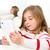 красивой · домашнее · задание · домой · школы · девушки - Сток-фото © lunamarina