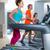 aérobic · suivre · entraîneur · femme · gymnase · fille - photo stock © lunamarina