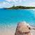praia · mallorca · água · paisagem · mar · azul - foto stock © lunamarina