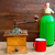 retro · öreg · kávé · daráló · üdítő · üveg - stock fotó © lunamarina