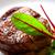 vitela · servido · prato · faca · garfo · comida - foto stock © lunamarina