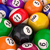 billiard balls with numbers stock photo © lupen