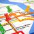 New · York · métro · carte · métro · métro · tube - photo stock © lupen