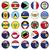 Stati · Uniti · america · bandiera · pulsanti · set · eps10 - foto d'archivio © luppload