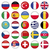 European Icons Round Flags stock photo © Luppload