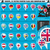 european icons round indicator flags and map set1 stock photo © luppload