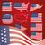 Egyesült · Államok · Amerika · szimbólum · szett · jpg · illustrator - stock fotó © Luppload