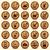 madera · wifi · iconos · móviles · inalámbrica · botones - foto stock © Luppload