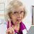 医師 · 警告 · アドバイス · 女性 · 医師 · 座って - ストックフォト © LynneAlbright