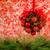 松 · コーン · ボール · 絞首刑 · 装飾 · 赤 - ストックフォト © lynnealbright