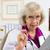 医師 · アドバイス · 女性 · 座って · デスク · 医療 - ストックフォト © LynneAlbright
