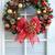 christmas · krans · opknoping · deur · goud · gekleurd - stockfoto © lynnealbright