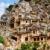 ören · eski · kasaba · uzak · dağlar · gökyüzü - stok fotoğraf © lypnyk2