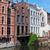 typisch · nederlands · huizen · water · zonnige · voorjaar - stockfoto © macsim