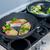 chef · piatto · piatto · pesce · verdura - foto d'archivio © macsim