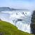 or · cascade · Rainbow · Islande · eau · nuages - photo stock © macsim
