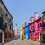 színes · házak · Olaszország · panoráma · épület · festék - stock fotó © macsim