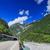 hegy · út · ősz · tájkép · Alpok · utazás - stock fotó © macsim