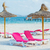 chairs and umbrella on the beach stock photo © macsim