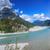 yaz · manzara · gölet · kayalar · gökyüzü - stok fotoğraf © macsim