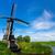holandés · molino · de · viento · Países · Bajos · panorama · tradicional · canal - foto stock © macsim