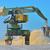 excavadora · camión · blanco · aislado · construcción · trabajo - foto stock © mady70